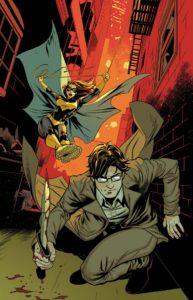 Batgirl stalking James Gordon Jr
