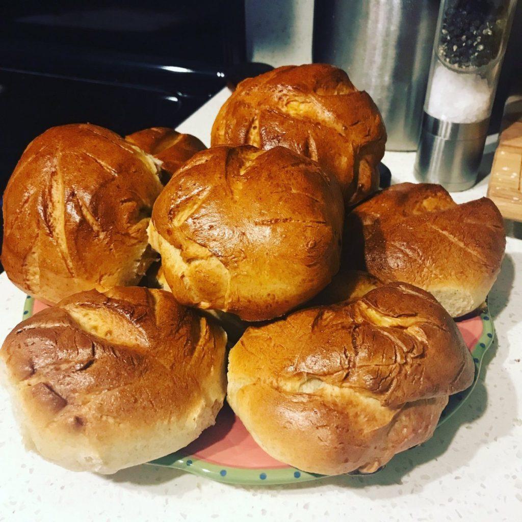 Sourdough rolls, photo by Kate Tanski