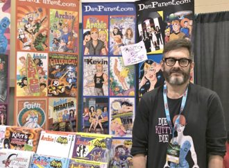 Dan Parent on Creating Kevin Keller and Drawing Batman