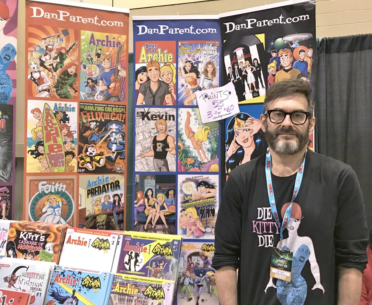 Dan Parent at Toronto Comic Con 1