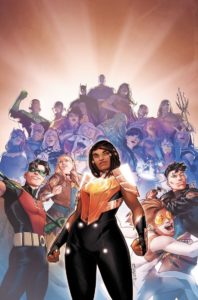 Naomi with Young Justice