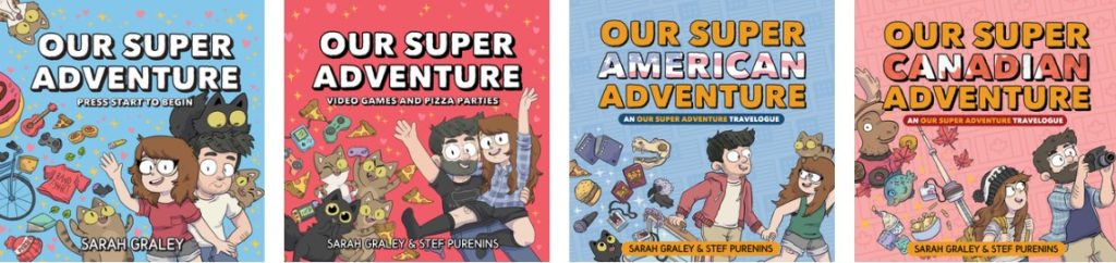 Our Super Adventure Volume 1 by Sarah Graley (Oni Press, March 2019)