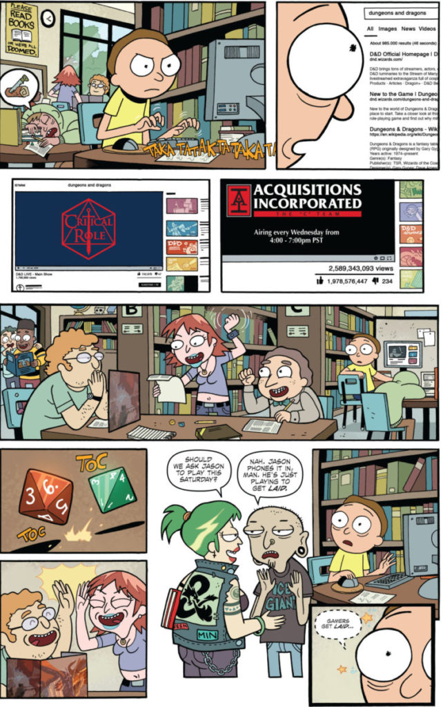 Rick And Morty Vs Dungeons Amp Dragons Rolls Out Something