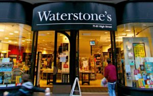 Storefront for Waterstones
