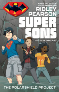 Super Sons: The PolarShield Project by Ile Gonzalez, Ridley Pearson and Saida Temofonte. DC Comics/DC Zoom. April 2 2019.