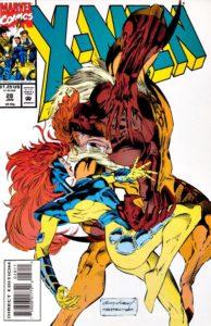 Sabretooth attacks Jean Grey