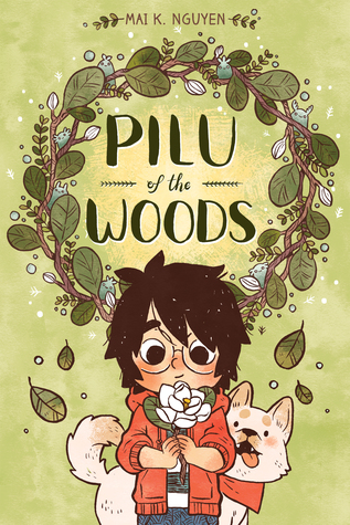 The cover of Pilu of the Woods, featuring a young, dark-haired girl named Willow