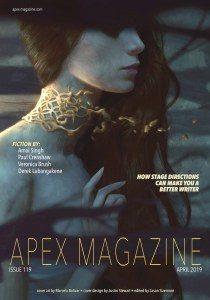 Apex Magazine, Issue 119, April 2019