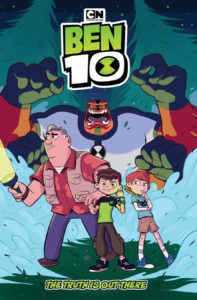 Ben 10: The Truth is Out There Meg Casey (Colorist), Lidan Chen (Artist), C.B. Lee (Writer), Warren Montgomery (Letterer) kaBOOM! March 20, 2019