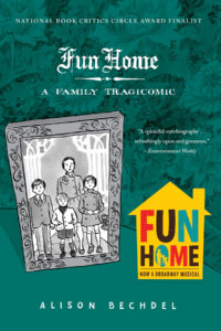 Fun Home Cover via Houghton Mifflin