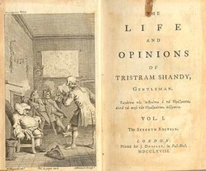 Cover page Life and Opinions of Tristam