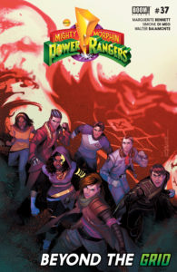 Mighty Morphin Power Rangers #37 Walter Baiamonte (Colorist), Marguerite Bennett (Writer), Simone di Meo (Artist), Ed Dukeshire (Letterer) BOOM! Studios March 27, 2019