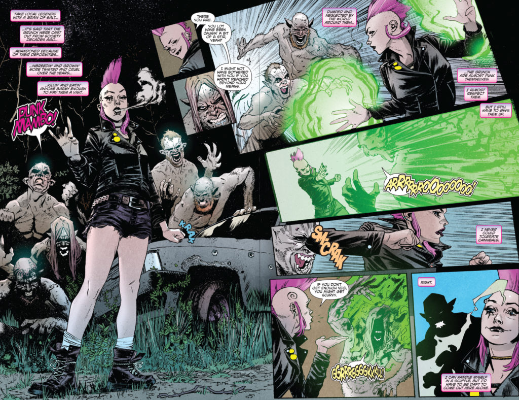 Punk Mambo #3, page 3 (Valiant Comics, April 2019)