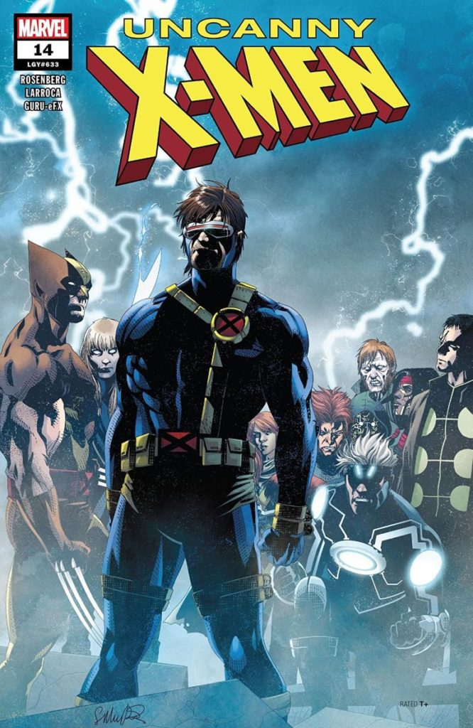 A new team of X-Men led by Cyclops