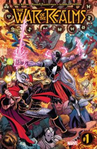 Asgardians battle Dark Elves in eye-bleeding color
