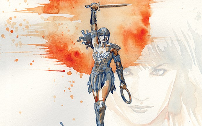 Xena Warrior Princess #1 by David Mack (Dynamite Entertainment, April 2019)