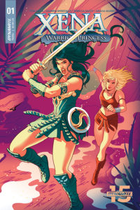 Xena Warrior Princess #1 by Paulina Ganucheau (Dynamite Entertainment, April 2019)