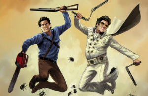 Army of Darkness/Bubba Ho-Tep #3: Burning Love … And Body Parts