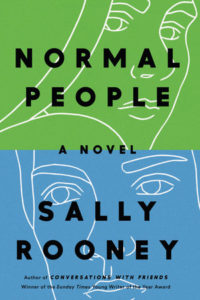 green and blue cover of Normal People by Sally Rooney