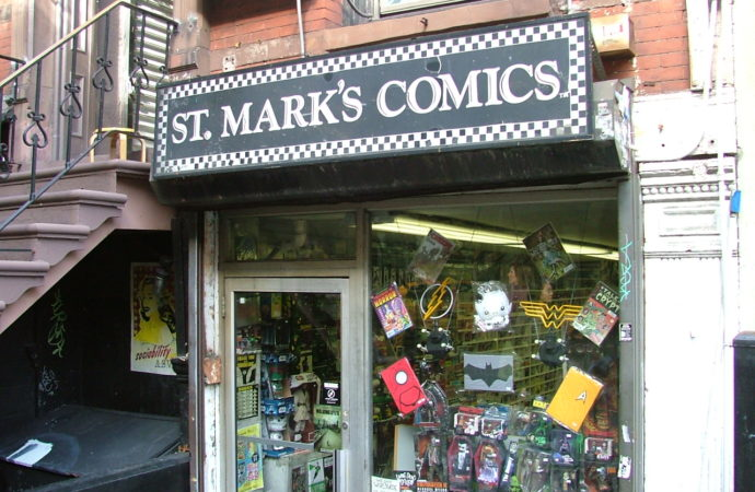 Remembering St. Mark's Comics: Transitioning In the Comic Shop