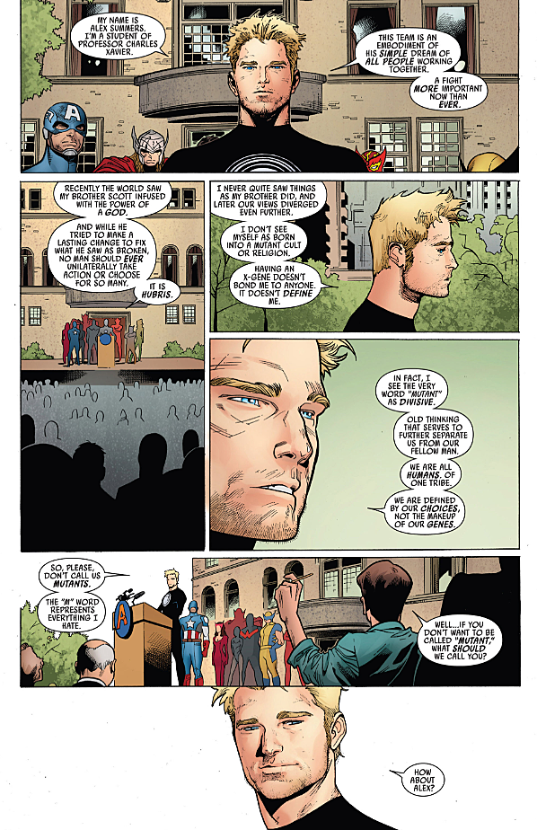 """Havok gives a speech about the """"m"""" word"""