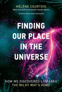 Cover for 'Finding Our Place In The Universe' by Hélène Courtois, translated by Nikki Kopelman