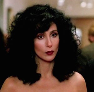 Cher in Moonstruck, 1987