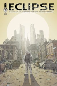 Eclipse #16 (Top Cow Comics, June 2019) - A figure stands in a ruined city