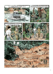 Kivu Page 55. Written by Jean Van Hamme and drawn by Christophe Simon. Published by Europe Comics. May 15, 2019.
