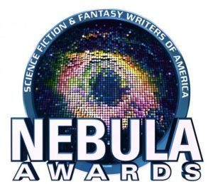 Logo for the Nebula Awards