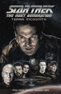 Star Trek: Terra Incognita TPB cover by J.K. Woodward. Published by IDW Publishing. May 1, 2019 - Realistic portraits of Star Trek characters
