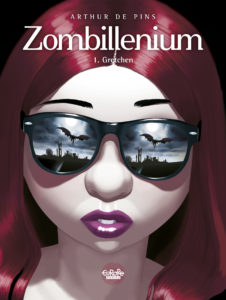 Zombillenium #1 Cover. Written and drawn by Arthur De Pins. Published by Europe Comics. May 15, 2019.