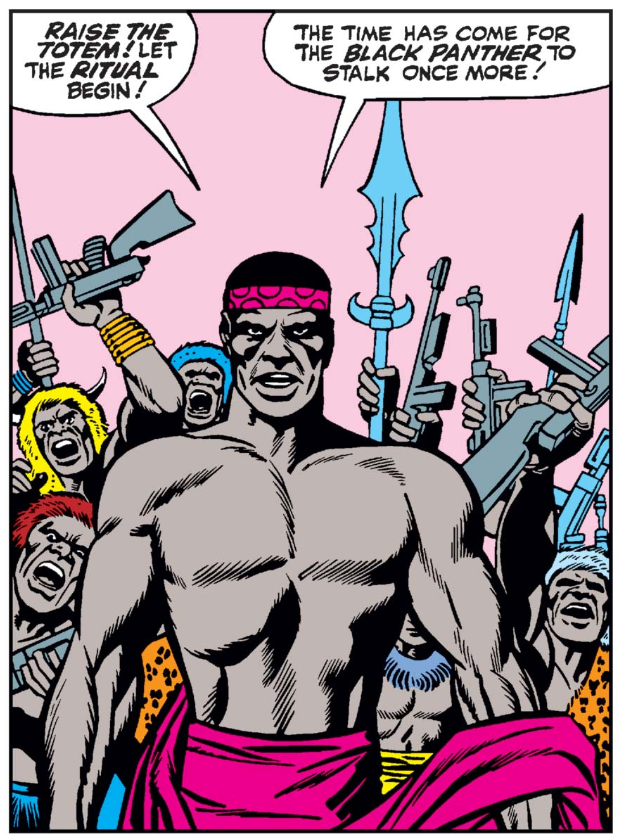 Digital rendering of a panel from Fantastic Four #52 - 1966, Marvel Comics.