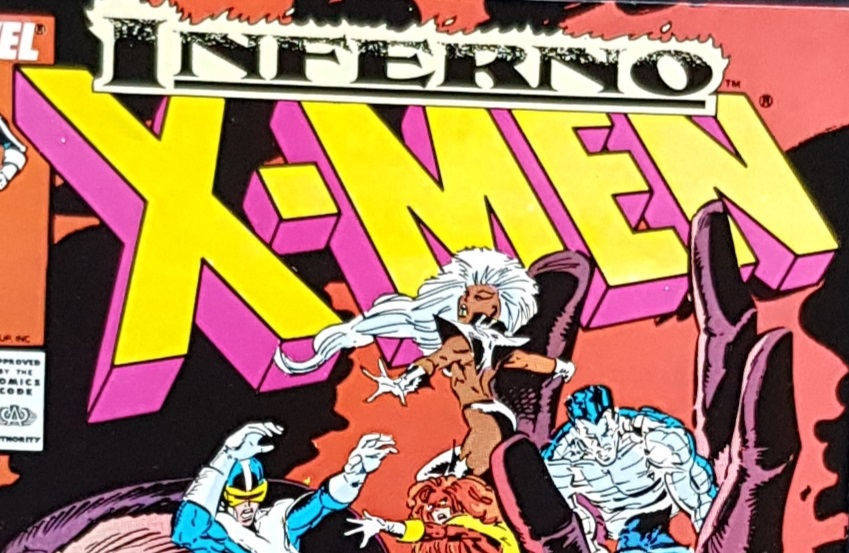 cover of Inferno X-Men #243