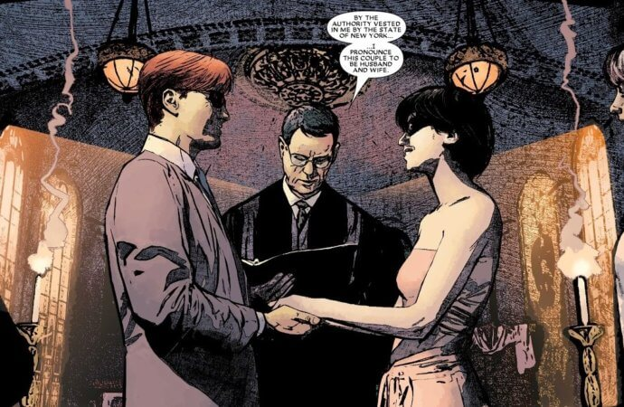 The Wedding Issue: Daredevil and Milla Donovan