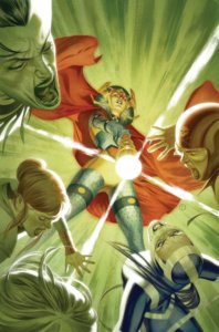 Cover for Female Furies #5 - Barda using her Mega Rod to ward off the Furies
