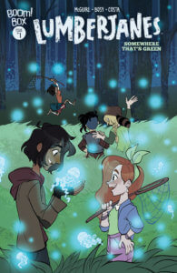 Lumberjanes: Somewhere That's Green #1 Alexa Bosy (Artist), Ariana Maher (Letterer), Seanan McGuire (Writer) BOOM! Box May 29, 2019
