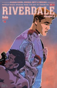 Riverdale Season 3 #4 Cover A by Thomas Pitilli. Written by Michael Ostow, drawn by Thomas Pitilli and Joe Eisma. Published by Archie Comics. June 26, 2019.