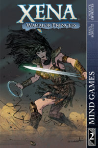 Cover of Xena: Mindgames TPG. Vicente Cifuentes (Art), Erica Shultz (Writer) C 2019 Dynamite Comics