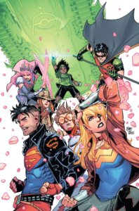 Cover for Young Justice #6 - Team shot of Young Justice