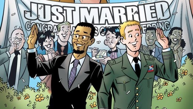 The Wedding Issue, Pride Edition: Kevin Keller and Clay Walker