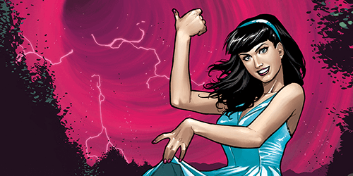 Bettie Page: Unbound #1 Tickles the Eyes And The Funny Bone
