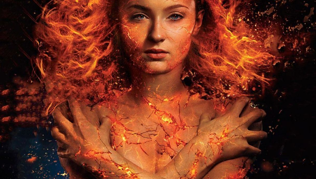 Jean Grey manifests her fiery powers