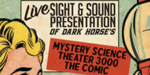 Podcasts and Pizza Rolls in Mystery Science Theater 3000: The Pod Comic!