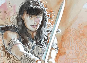 Birds of a Feather Flock to Xena: Warrior Princess #3