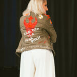 Designer Leetal Platt shows off her Star Wars jacket