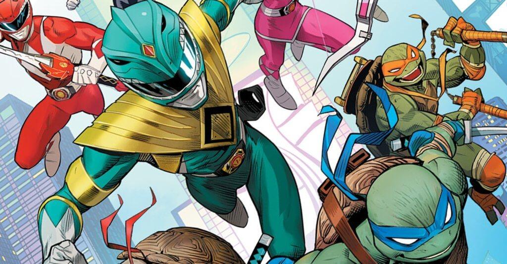 Mighty Morphin Power Rangers/ Teenage Mutant Ninja Turtles cover by Dan Mora
