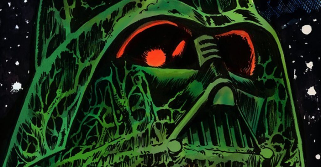 Star Wars Adventures: Return to Vader's Castle Cover by Francesco Francavilla