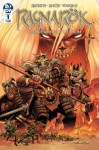 Ragnarok #1: The Breaking of Helheim cover by Walter Simonson