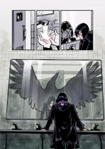 Teen Titans: Raven. David Calderon (colourist), Kami Garcia (writer), Tom Napolitano (letterer)  and Gabriel Picolo with Jon Sommariva and Emma Kubert (artists). DC Ink (a DC Comics imprint). July 2, 2019